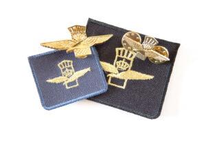Set emblemen luchtmacht